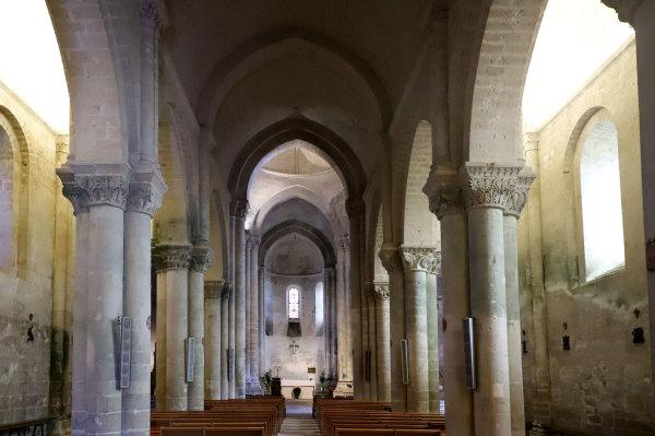 L'église romane d'Aulnay