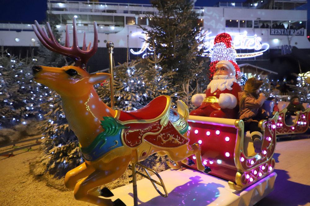 Le marché de Noël du Barcares