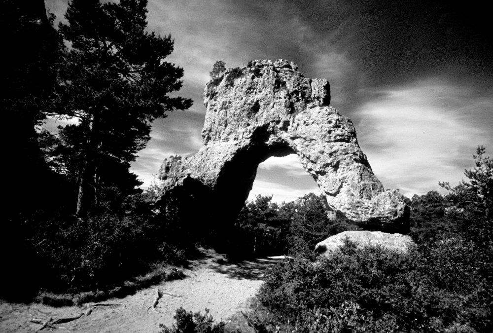 La porte de Mycène à Montpellier le vieux
