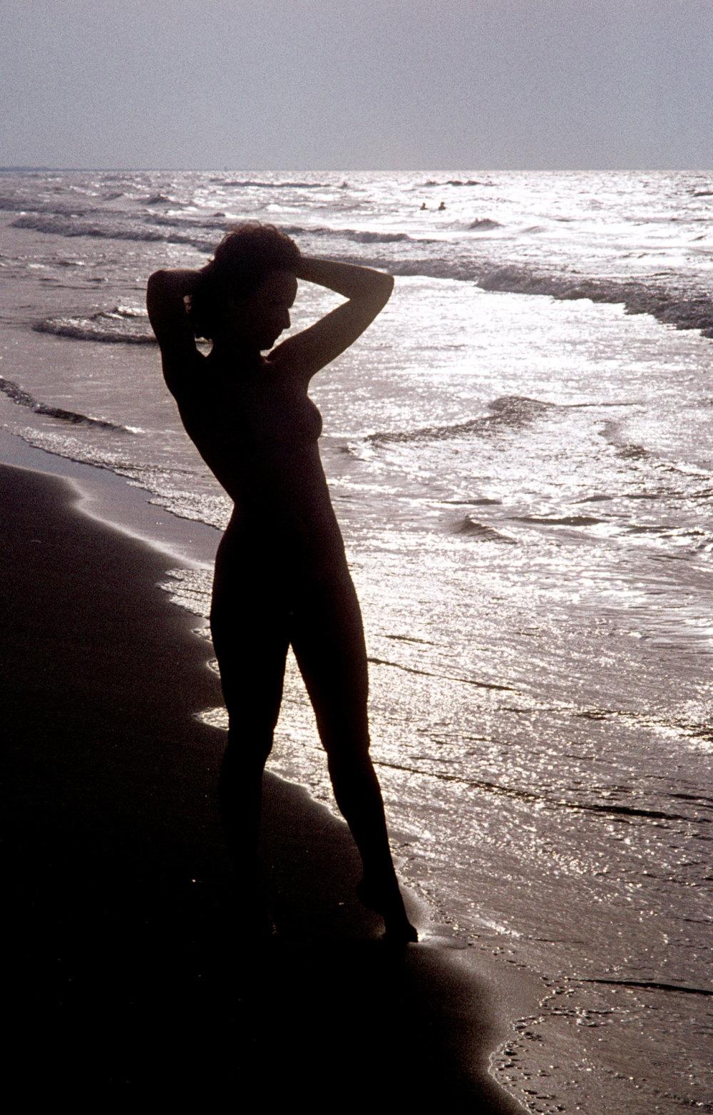 Sur une plage du Roussillon