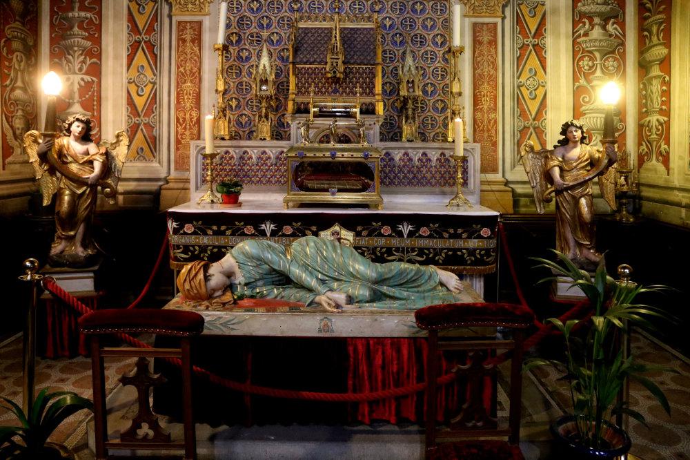 L'intérieur de la cathédrale d'Albi