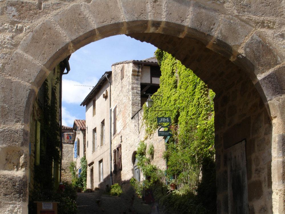 Une des portes de Cordes