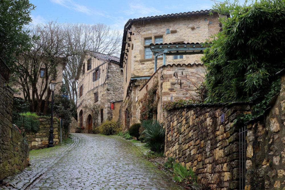 Une rue de Cordes