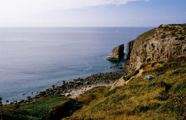Les falaises du cap Frehel