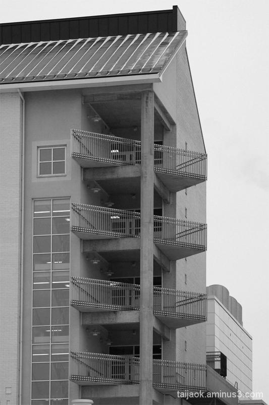 balcony hospital