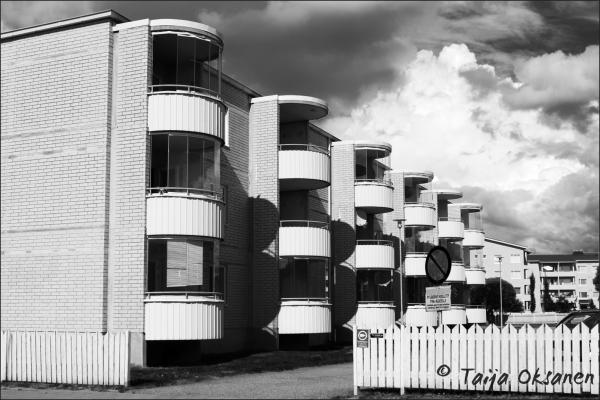 Different balconies