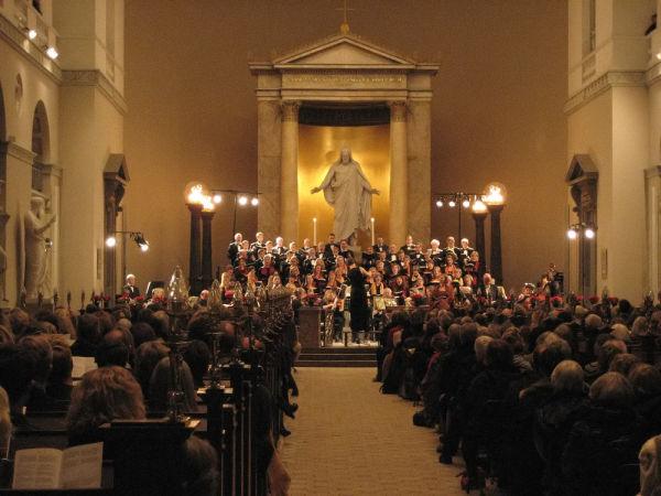 Händel's Messias in Copenhagen Dome Church