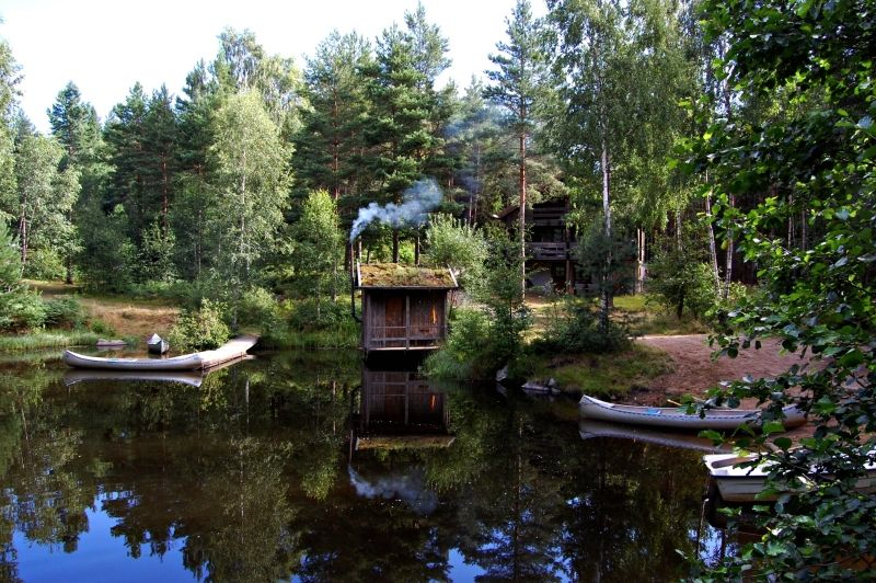 Summer morning in Smaaland/Scania - Sweden