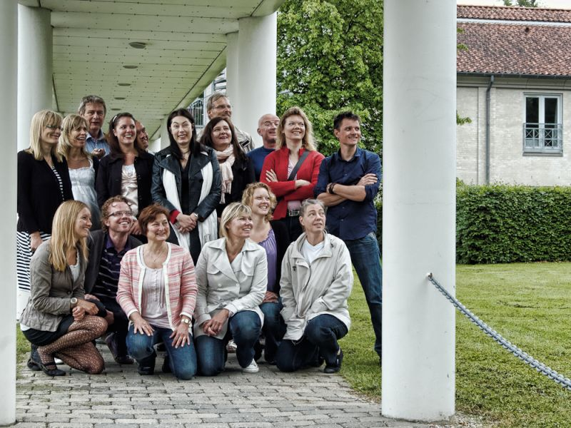 Participiants at a course on unofficial leadership