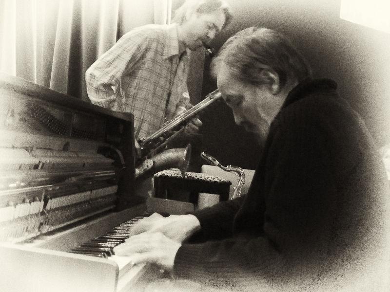 Butch Lacey (p) and Jesper Løvdal (ts)