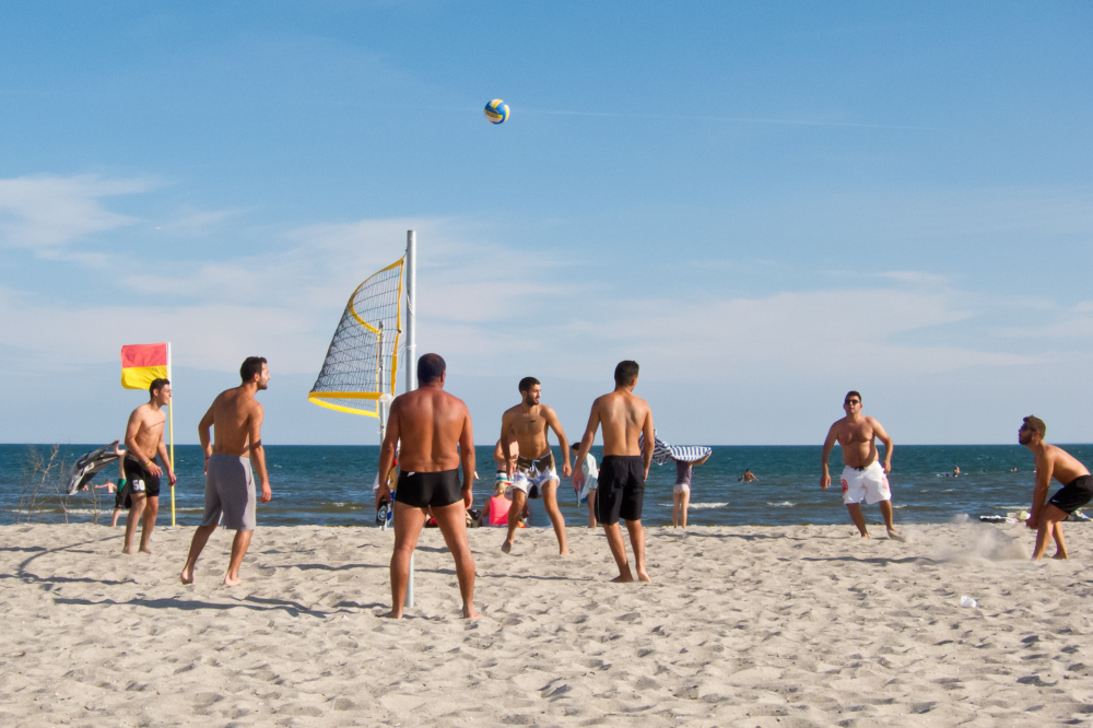 Sunday at Ishoj Beach, Denmark