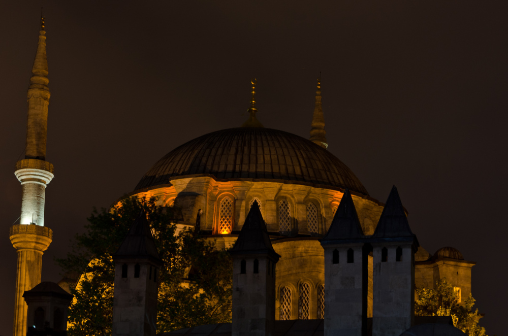 Mosque in central Istanbul