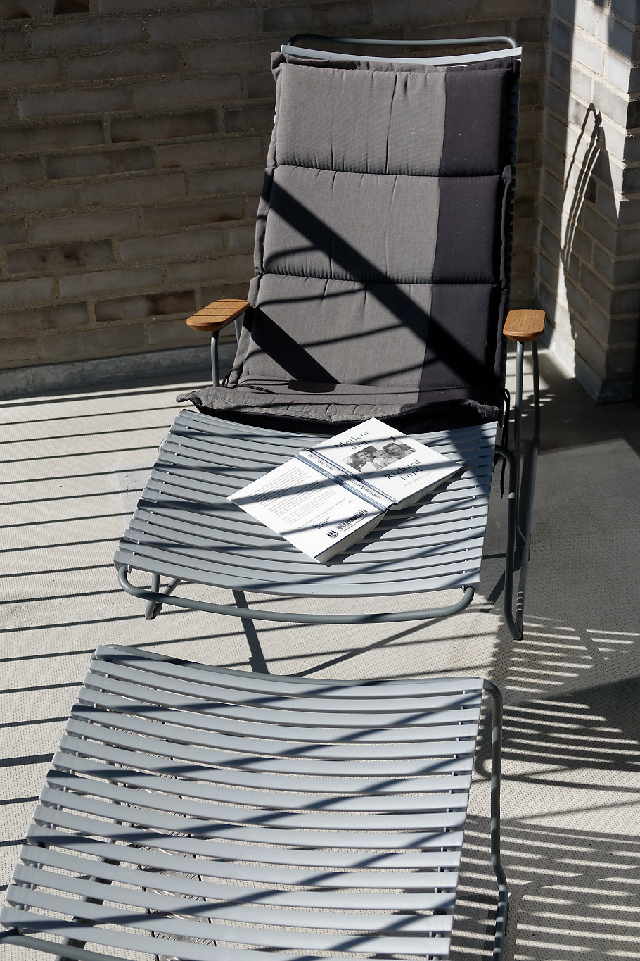 A lounger in the sun