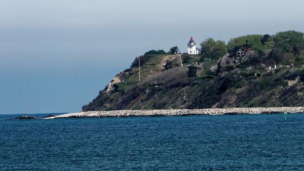 Spodsbjerg lighthouse at Hundested