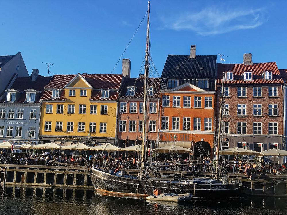 The joy of Nyhavn, Copenhagen
