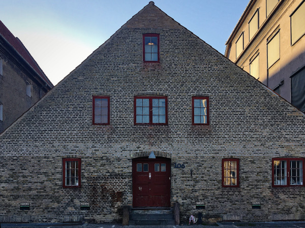 Old house at Christianshavn, Copenhagen