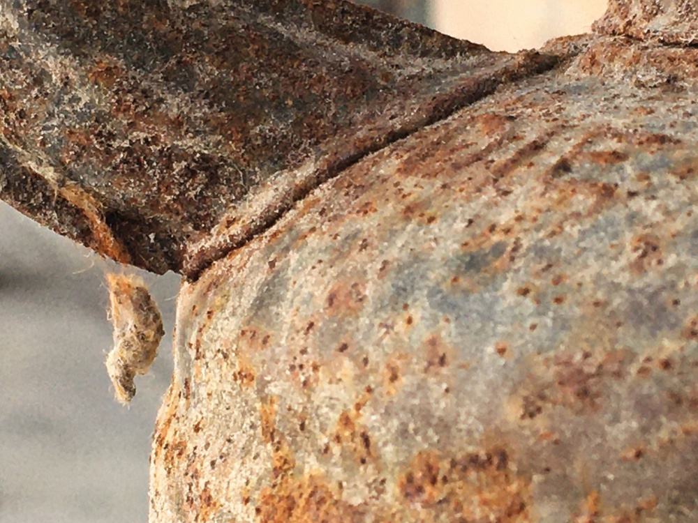 Rusty detail