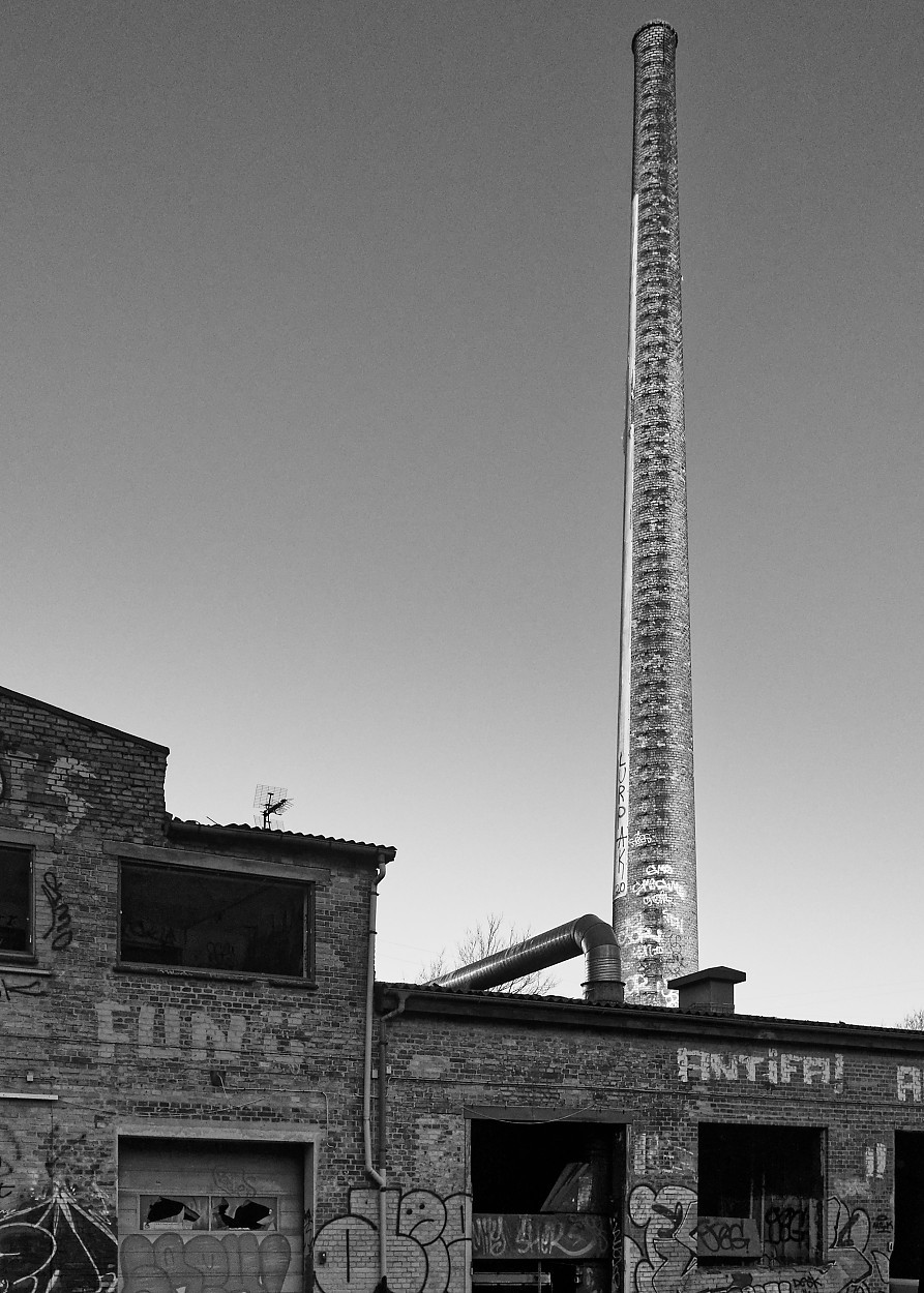 Old industry chimney