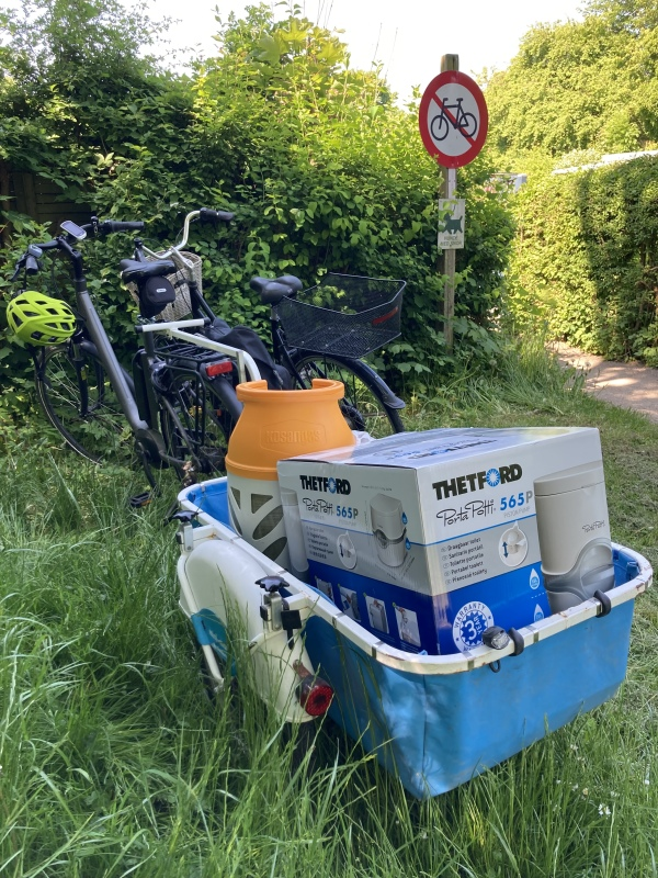 It's good to have a trailer for your bike