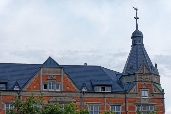 Upper floors of a house at Drottningstorget, Malmö