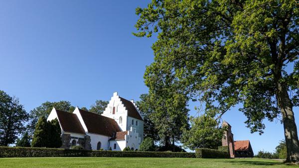 Melby church, Funen