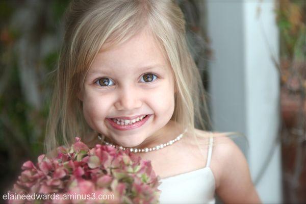 wedding child event flower girl
