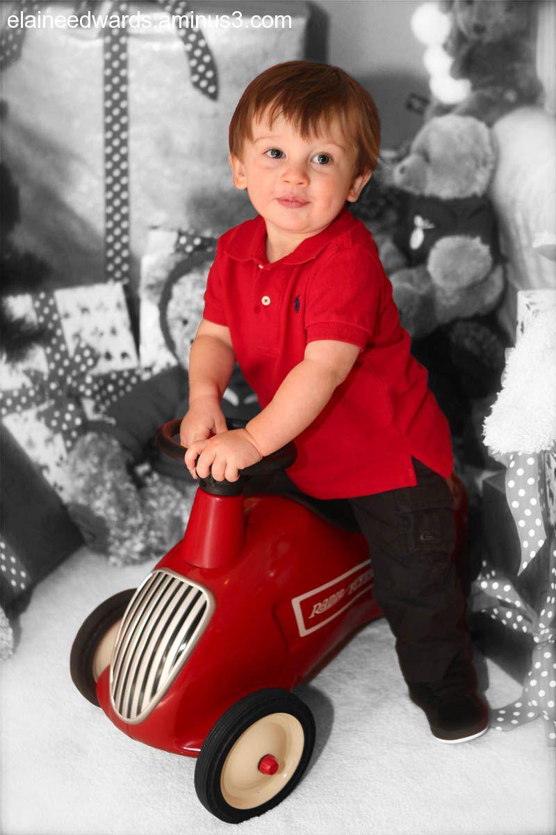 boy child christmas holiday photo