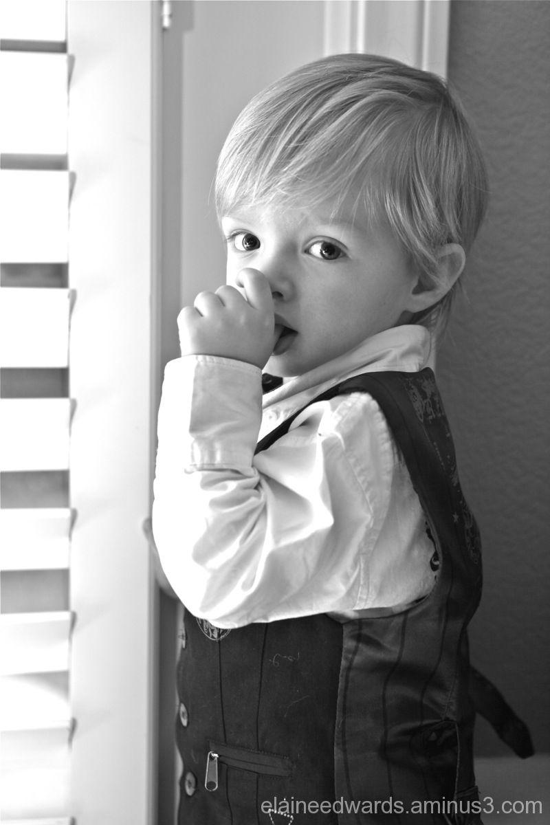 toddler boy thumb photo