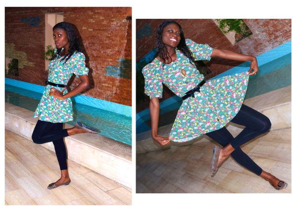 fmk vintage eco dress
