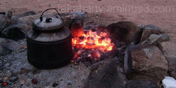 Beduin tea pot we had in a desert camp