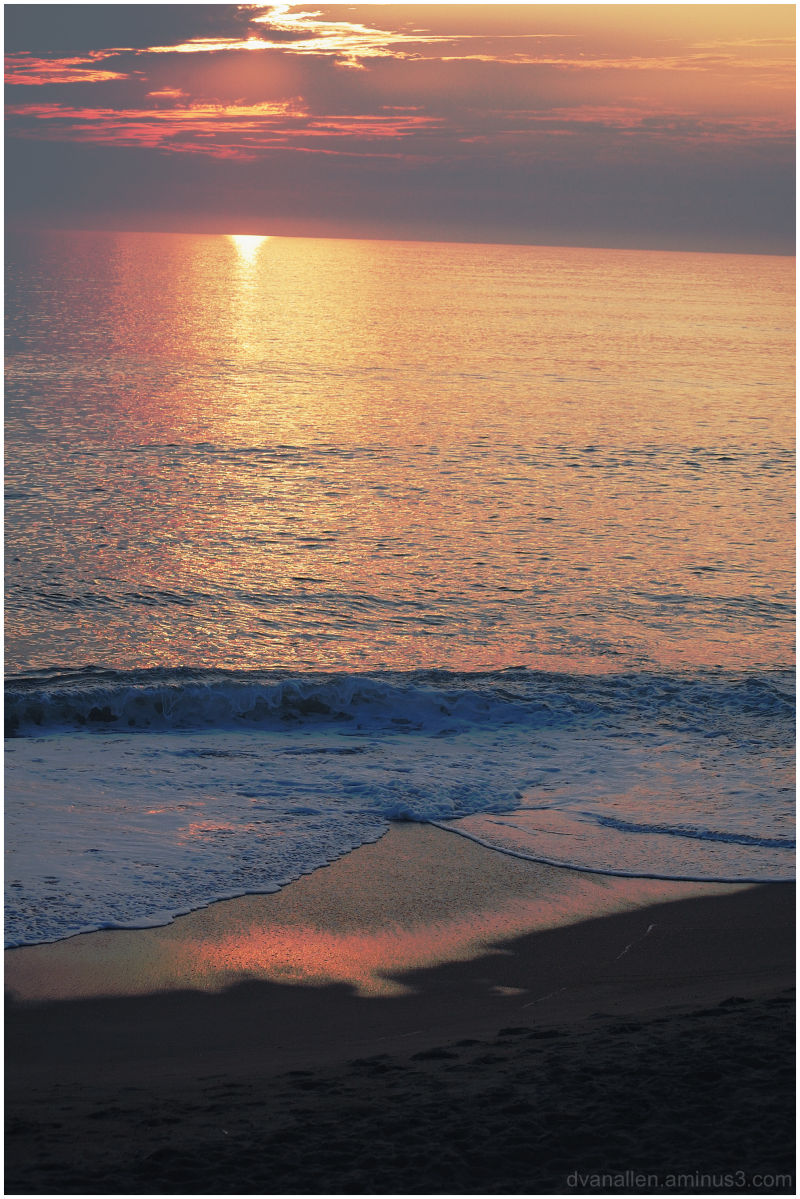 atlantic ocean, sunrise