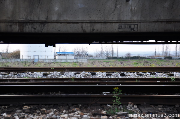 Gorgan Iran Train Railway Station
