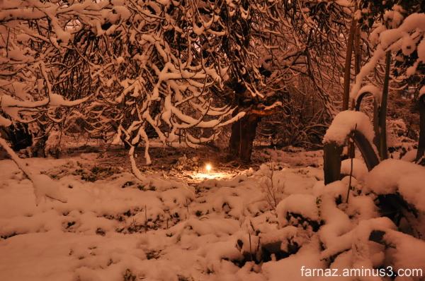 شبهای یرفی گرگان  Gorgan - Iran  at night