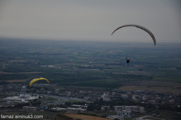 parachute gorgan گرگان