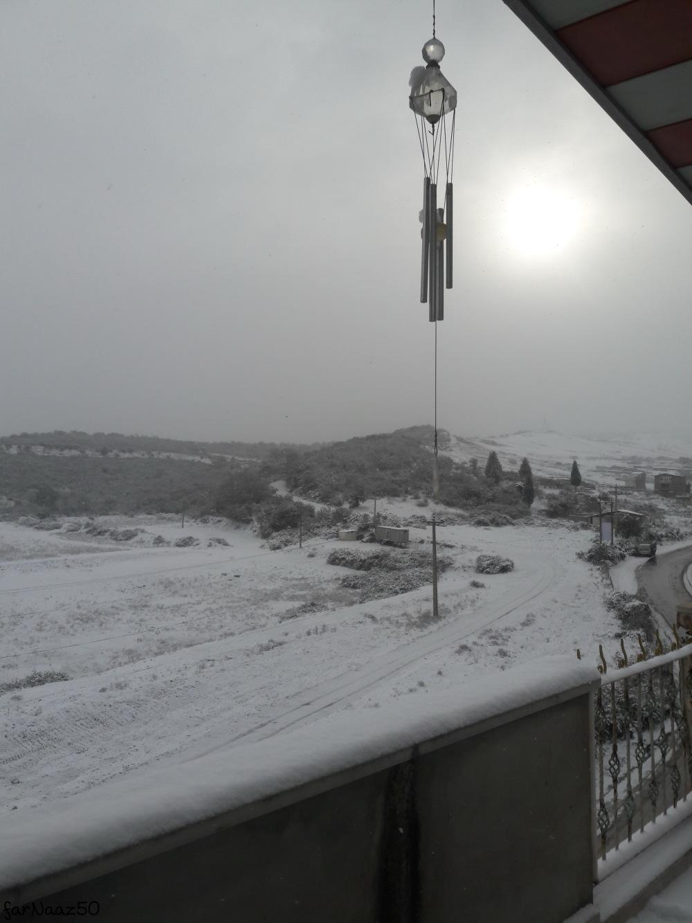 برف گرگان