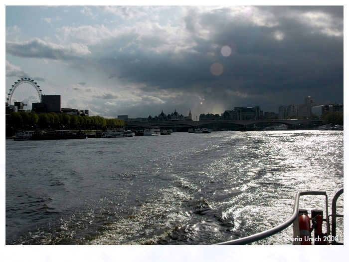 London view from the river