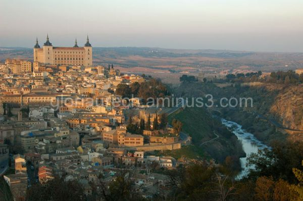 A view of the Imperial city of Toledo