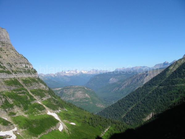 a beautiful valley in Glacier N. P., MT