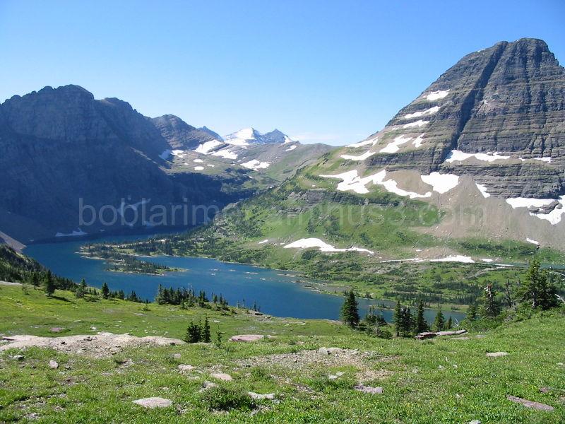 Hidden Lake, Glacier N. P., Mt