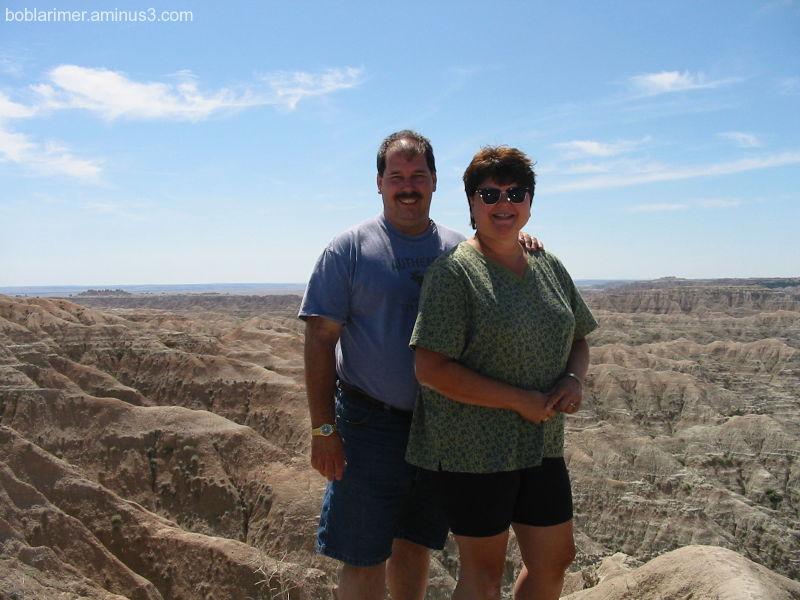 Bob & Barb at the Badlands
