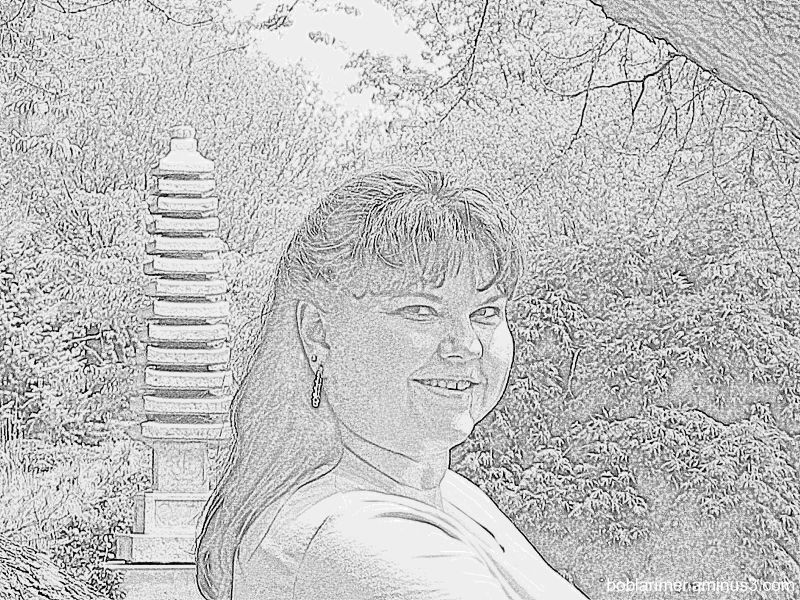 Pencil Sketch of Barb