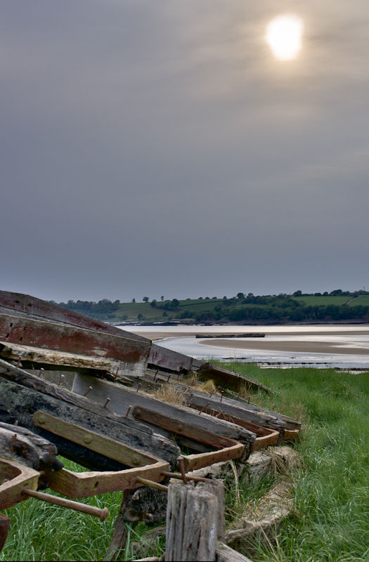 Wrecks on the Severn at Purton