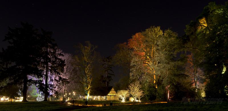 Great Oak Hall in Westonbirt's Enchanted Forest