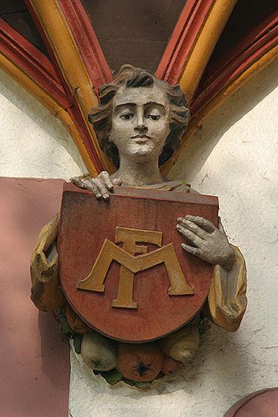 Detail an der 'alten AOK' in Alfeld (Leine)