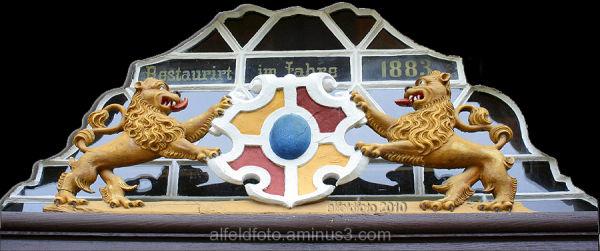 Portal der Lateinschule in Alfeld, Detail