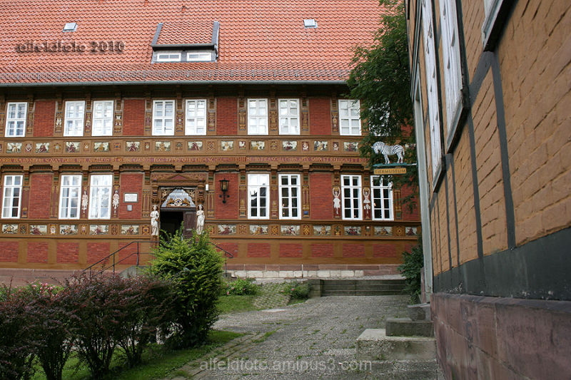 Tiermuseum und Lateinschule in Alfeld (Leine)