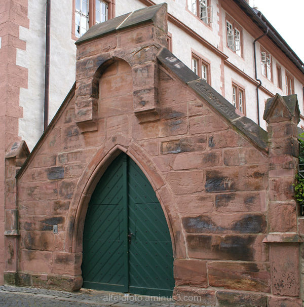 Tor am Rathaus in Alfeld (Leine)