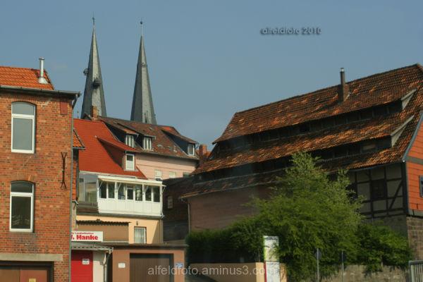 Der Perkwall in Alfeld (Leine)