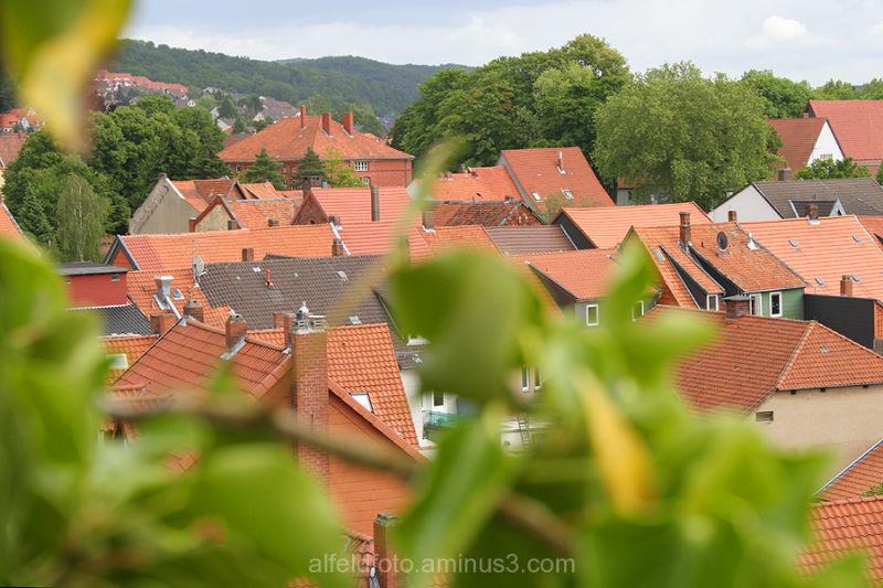 Blick auf Alfeld (Leine)