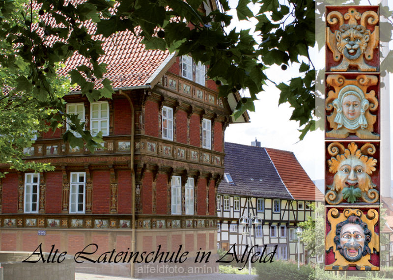 Lateinschule Alfeld (Leine), Postkartenmotiv